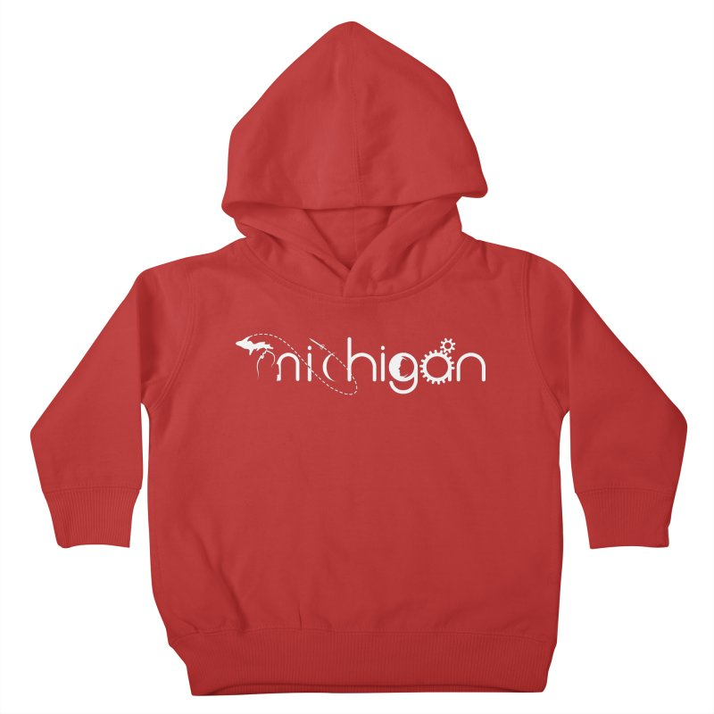 Space by State: Michigan Kids Toddler Pullover Hoody by Photon Illustration's Artist Shop