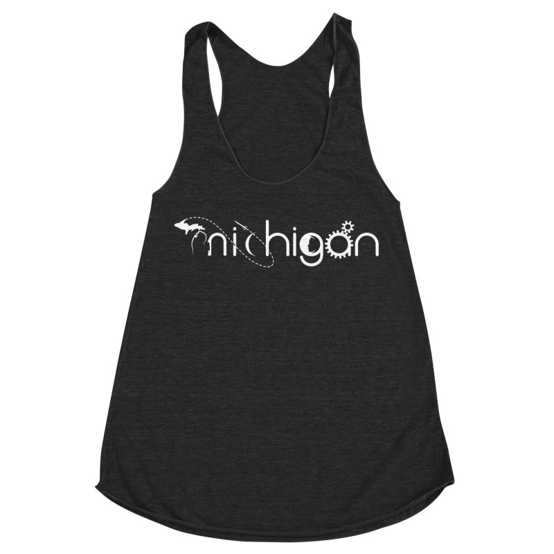 Space by State: Michigan Women's Tank by Photon Illustration's Artist Shop