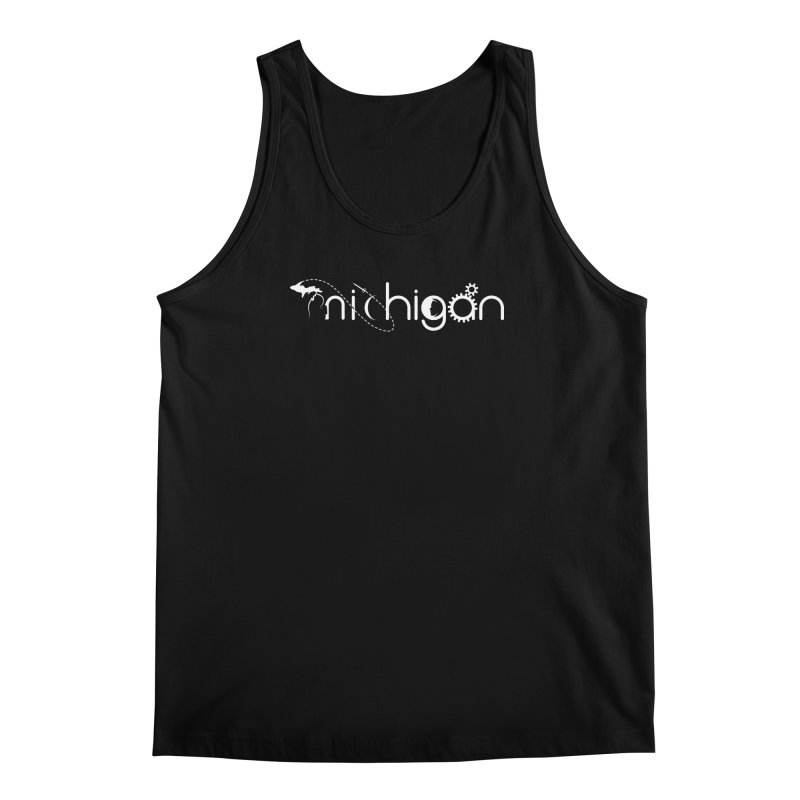 Space by State: Michigan Men's Regular Tank by Photon Illustration's Artist Shop