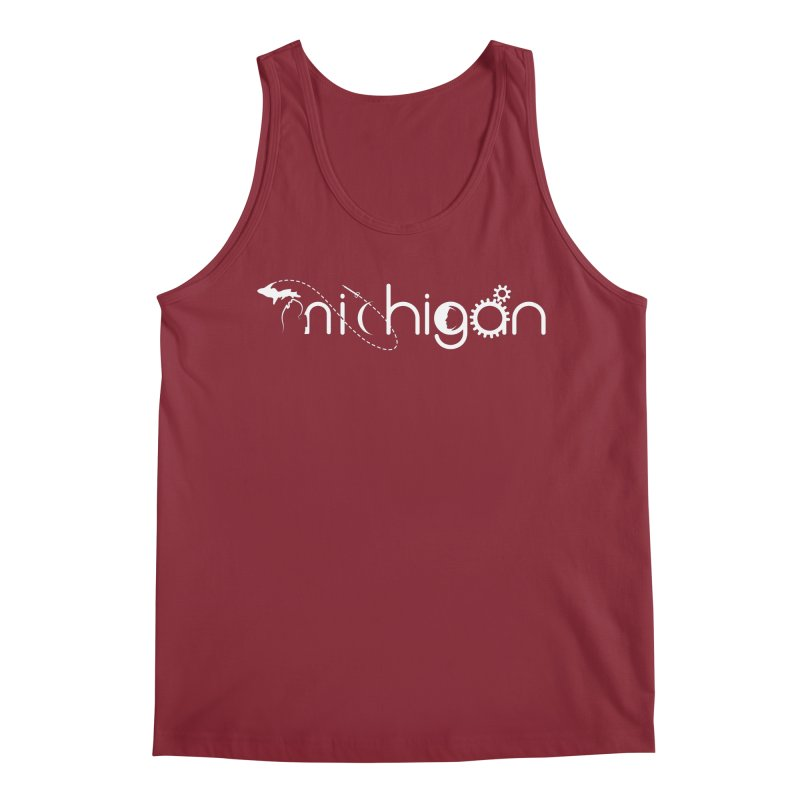 Space by State: Michigan Men's Tank by Photon Illustration's Artist Shop
