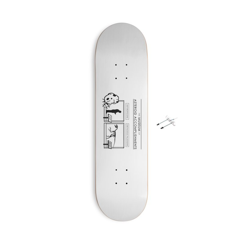Asteroid Museum Accessories With Hanging Hardware Skateboard by Photon Illustration's Artist Shop