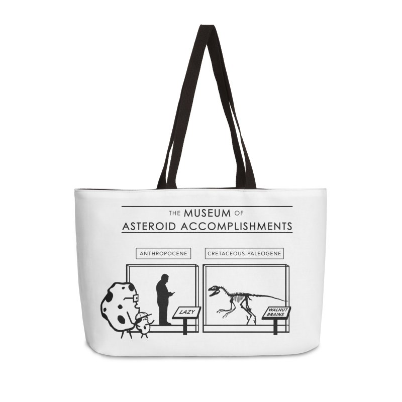 Asteroid Museum Accessories Weekender Bag Bag by Photon Illustration's Artist Shop
