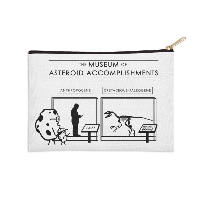 Asteroid Museum Accessories Zip Pouch by Photon Illustration's Artist Shop