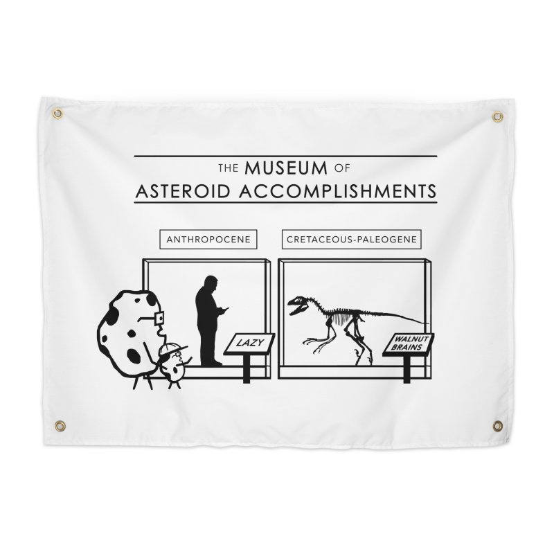 Asteroid Museum Home Tapestry by Photon Illustration's Artist Shop