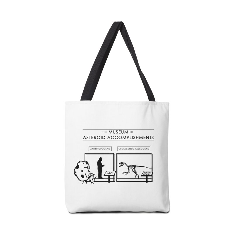 Asteroid Museum Accessories Tote Bag Bag by Photon Illustration's Artist Shop