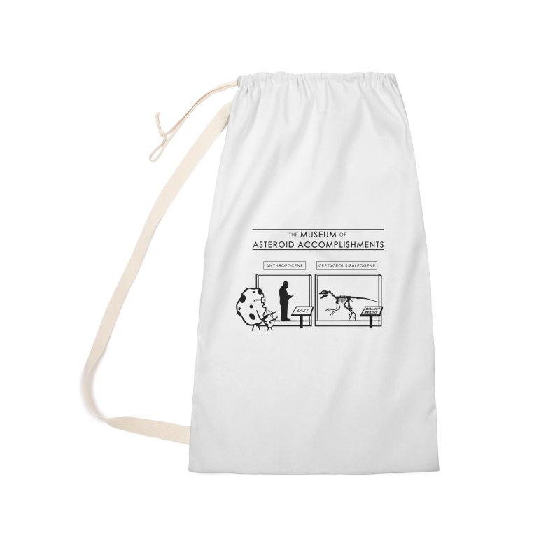 Asteroid Museum Accessories Laundry Bag Bag by Photon Illustration's Artist Shop
