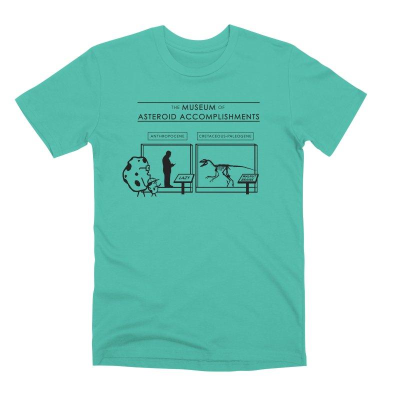 Asteroid Museum Men's Premium T-Shirt by Photon Illustration's Artist Shop