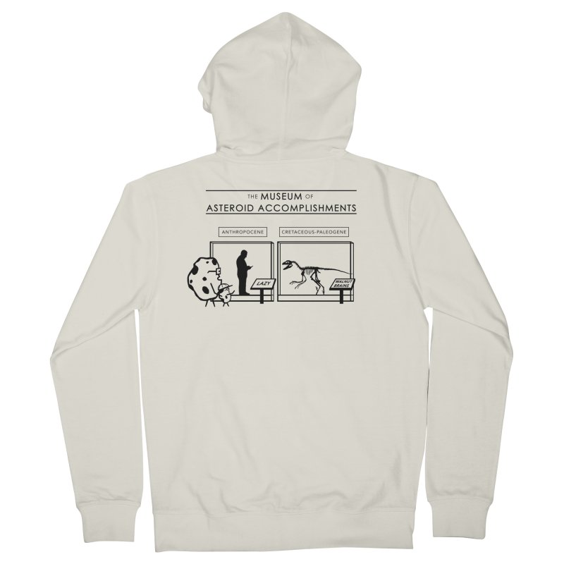 Asteroid Museum Men's French Terry Zip-Up Hoody by Photon Illustration's Artist Shop