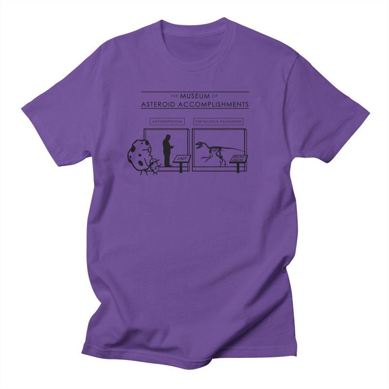 Asteroid Museum Women's Regular Unisex T-Shirt by Photon Illustration's Artist Shop