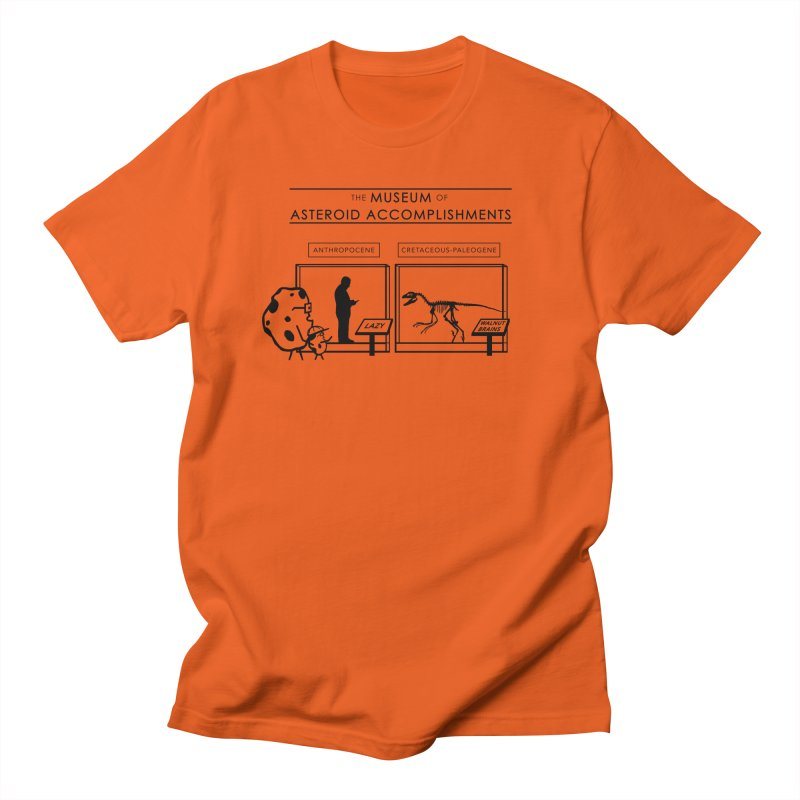 Asteroid Museum Men's Regular T-Shirt by Photon Illustration's Artist Shop