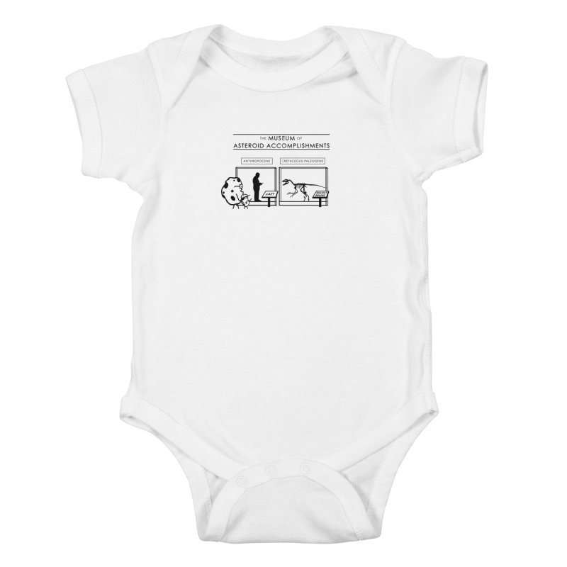 Asteroid Museum Kids Baby Bodysuit by Photon Illustration's Artist Shop