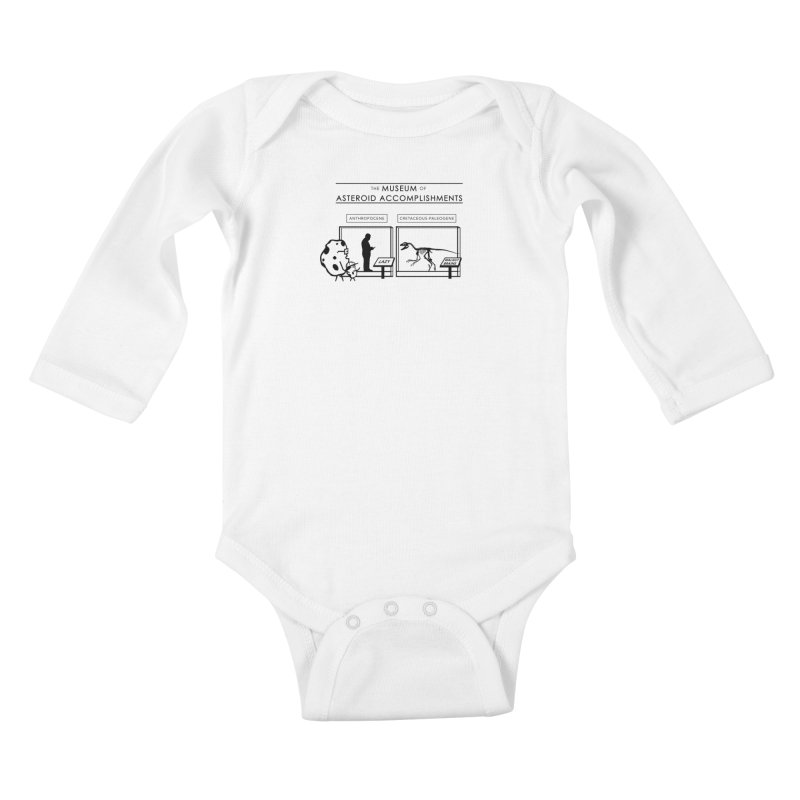 Asteroid Museum Kids Baby Longsleeve Bodysuit by Photon Illustration's Artist Shop