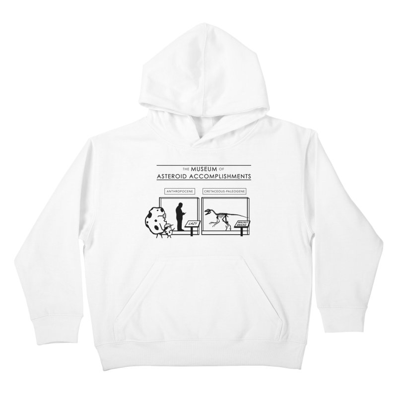 Asteroid Museum Kids Pullover Hoody by Photon Illustration's Artist Shop