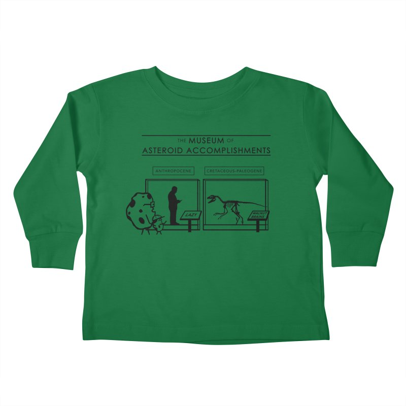 Asteroid Museum Kids Toddler Longsleeve T-Shirt by Photon Illustration's Artist Shop