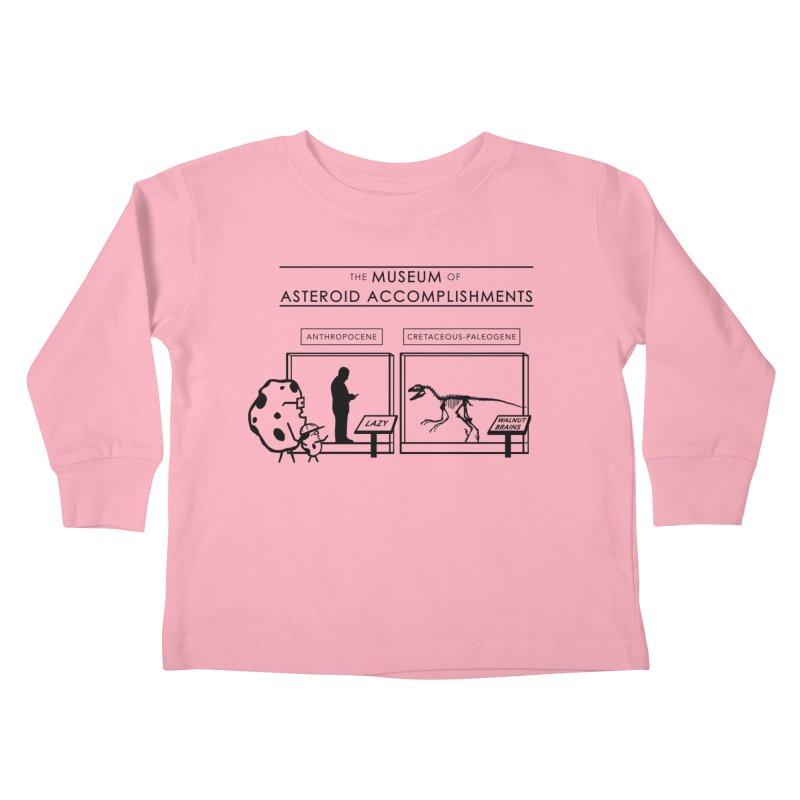 Asteroid Museum Kids Toddler Longsleeve T-Shirt by Photon Illustration's Artist Shop