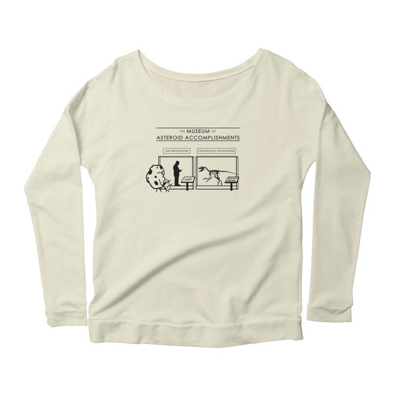 Asteroid Museum Women's Scoop Neck Longsleeve T-Shirt by Photon Illustration's Artist Shop