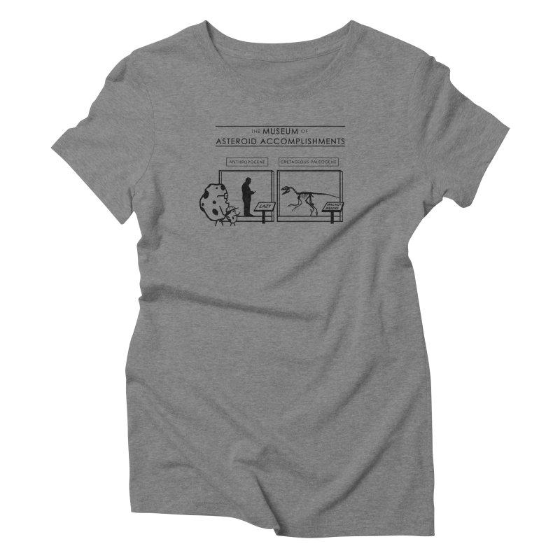 Asteroid Museum Women's Triblend T-Shirt by Photon Illustration's Artist Shop