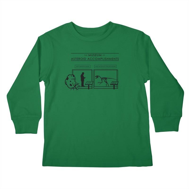 Asteroid Museum Kids Longsleeve T-Shirt by Photon Illustration's Artist Shop