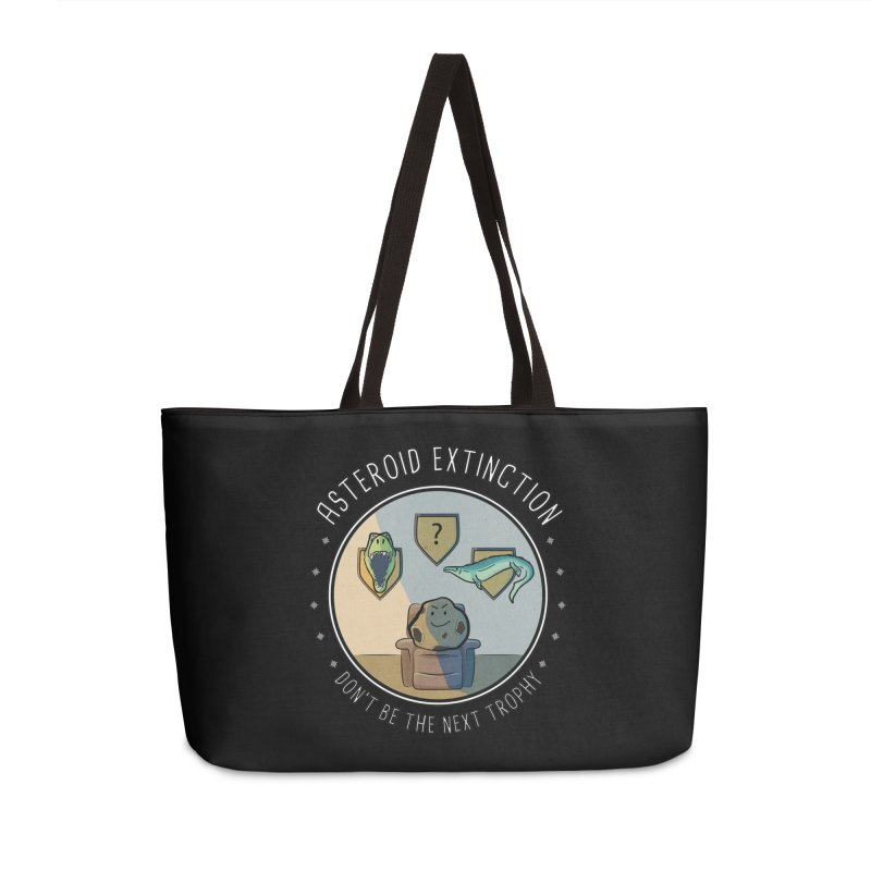 Asteroid Trophy Accessories Weekender Bag Bag by Photon Illustration's Artist Shop