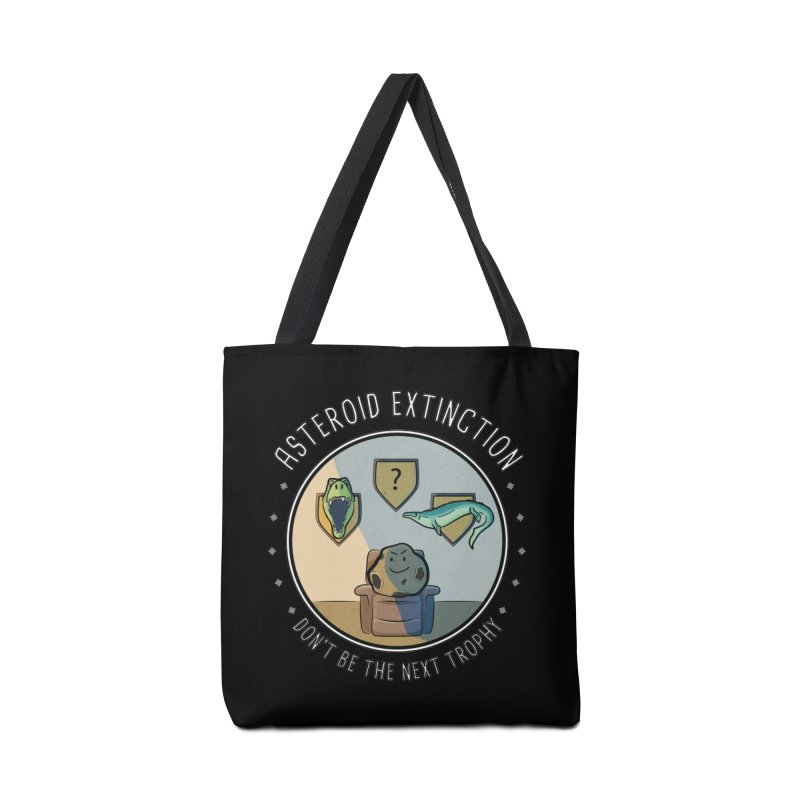 Asteroid Trophy Accessories Tote Bag Bag by Photon Illustration's Artist Shop