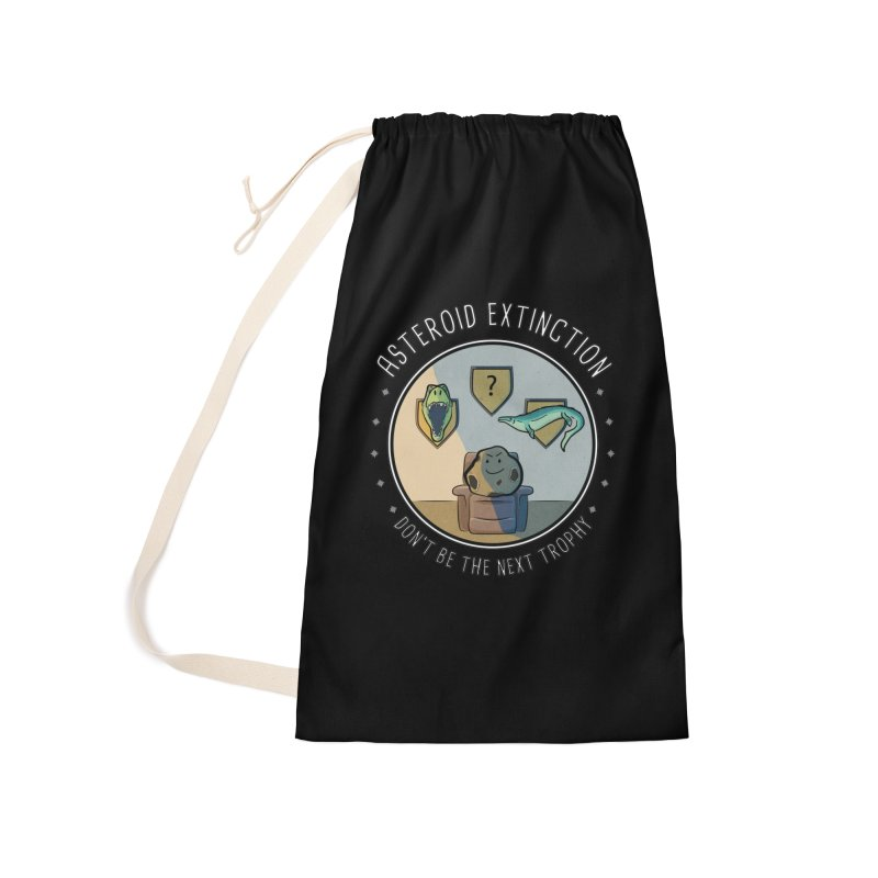 Asteroid Trophy Accessories Laundry Bag Bag by Photon Illustration's Artist Shop