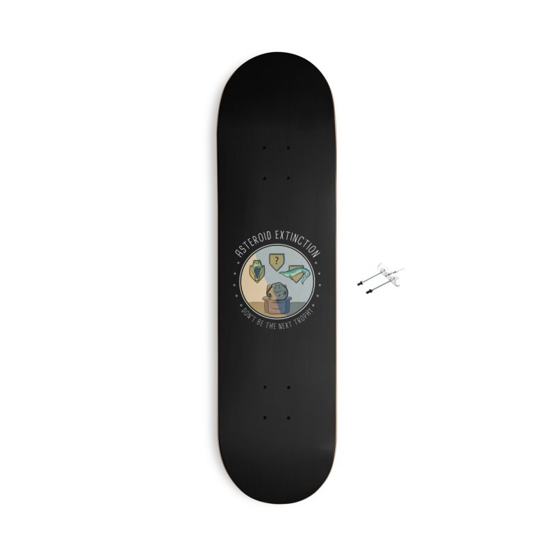 Asteroid Trophy Accessories With Hanging Hardware Skateboard by Photon Illustration's Artist Shop
