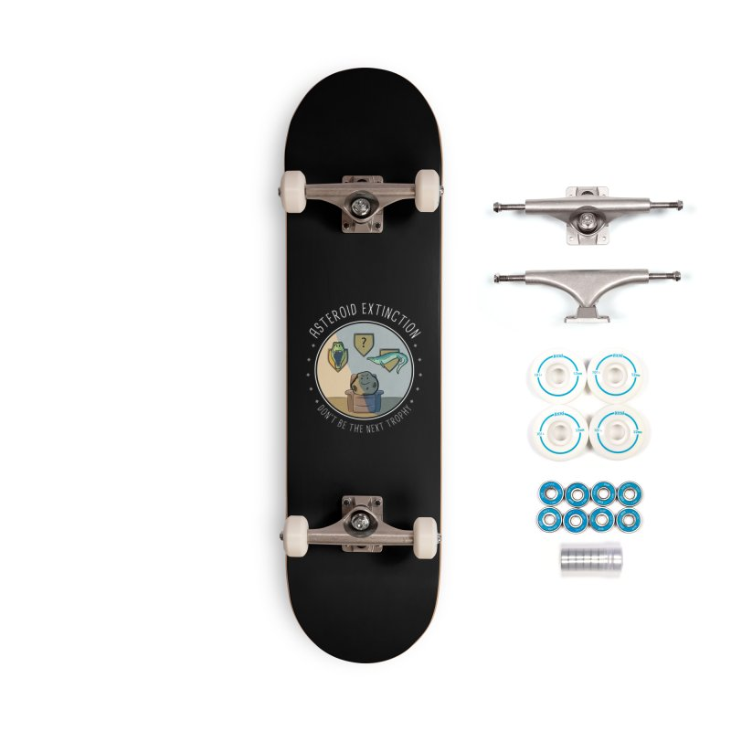 Asteroid Trophy Accessories Complete - Basic Skateboard by Photon Illustration's Artist Shop