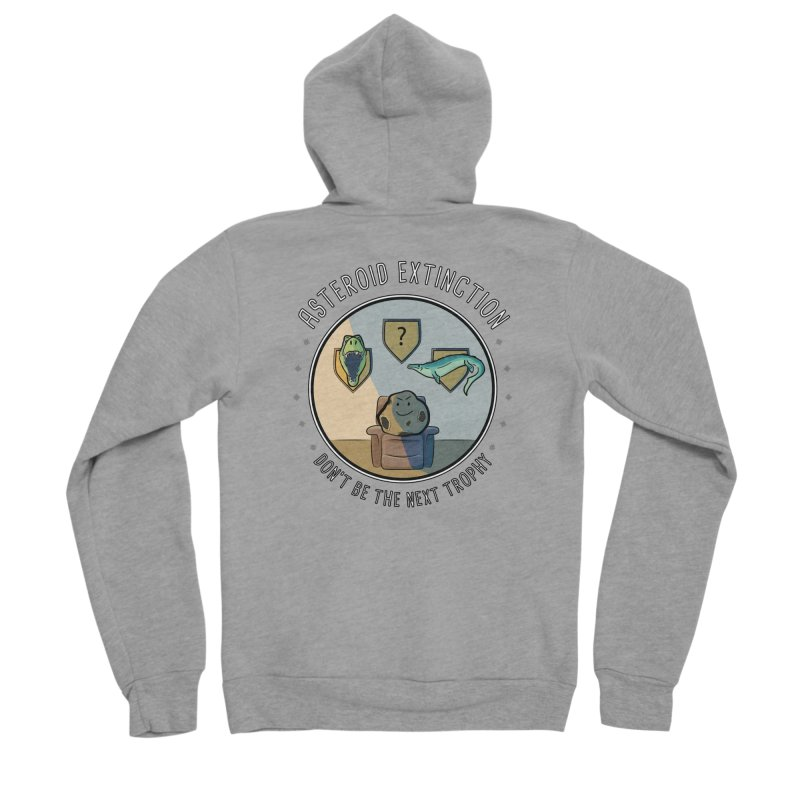 Asteroid Trophy Women's Zip-Up Hoody by Photon Illustration's Artist Shop