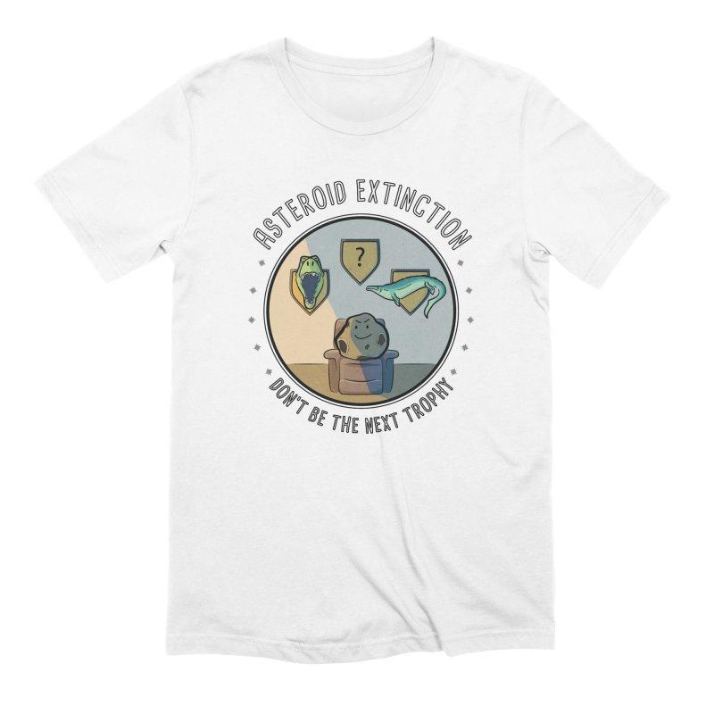 Asteroid Trophy Men's T-Shirt by Photon Illustration's Artist Shop