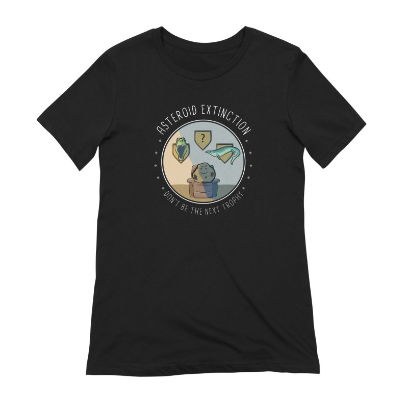 Asteroid Trophy Women's Extra Soft T-Shirt by Photon Illustration's Artist Shop