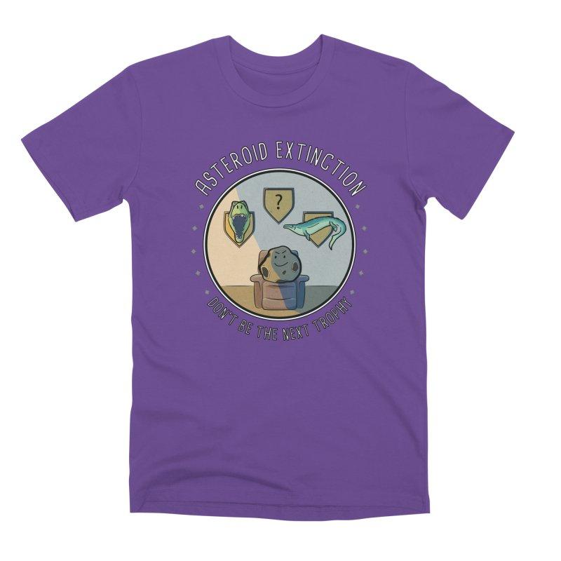 Asteroid Trophy Men's Premium T-Shirt by Photon Illustration's Artist Shop