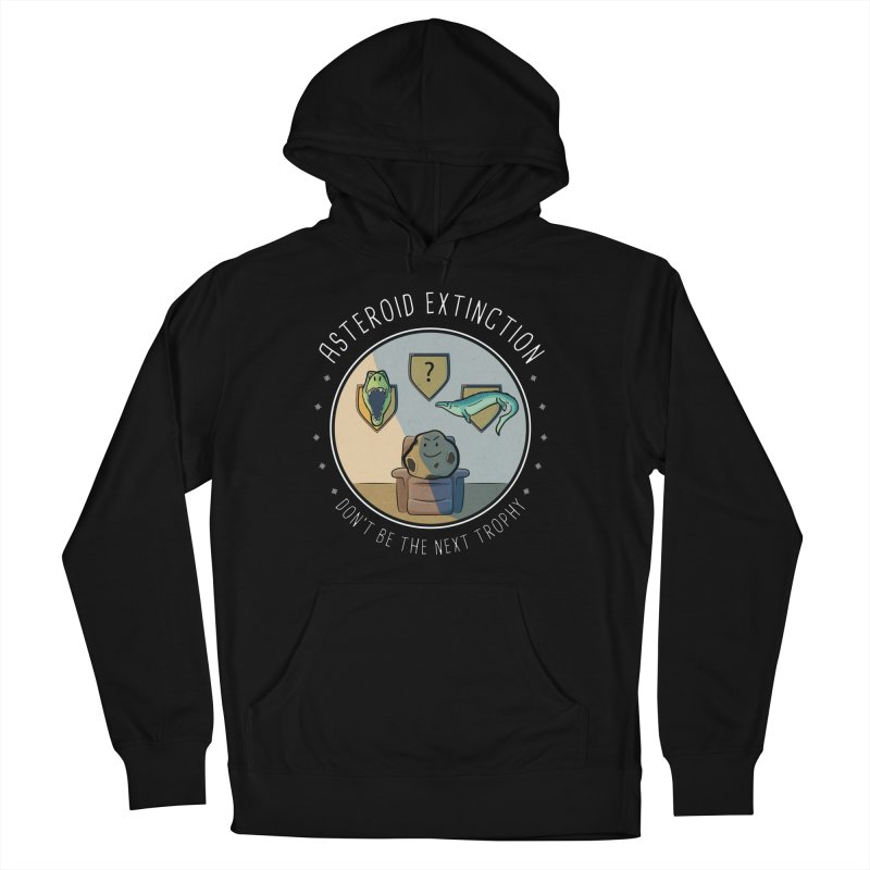Asteroid Trophy Women's French Terry Pullover Hoody by Photon Illustration's Artist Shop