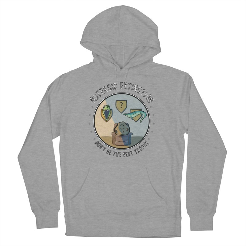 Asteroid Trophy Men's French Terry Pullover Hoody by Photon Illustration's Artist Shop