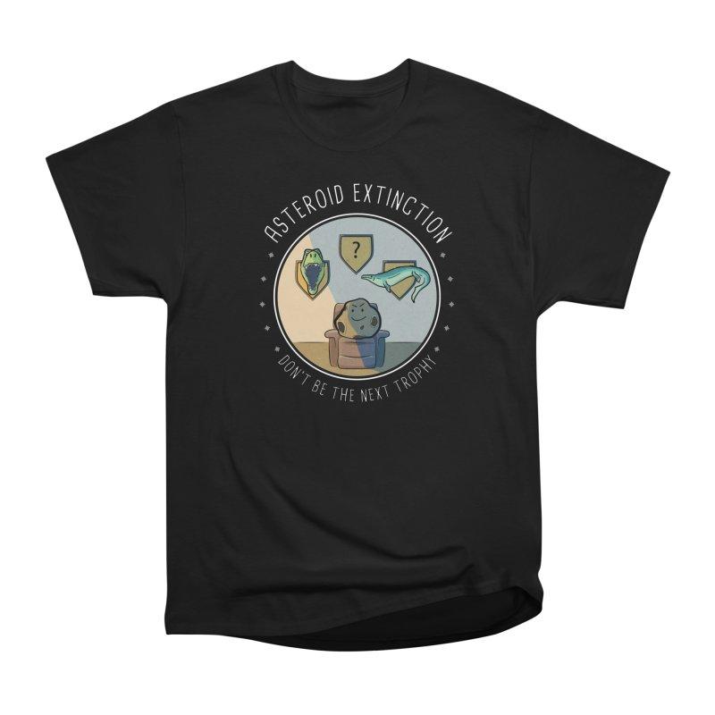 Asteroid Trophy Women's Heavyweight Unisex T-Shirt by Photon Illustration's Artist Shop