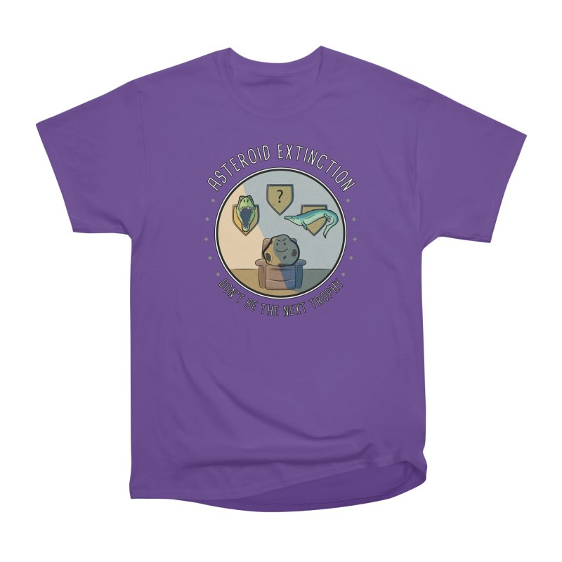Asteroid Trophy Men's Heavyweight T-Shirt by Photon Illustration's Artist Shop