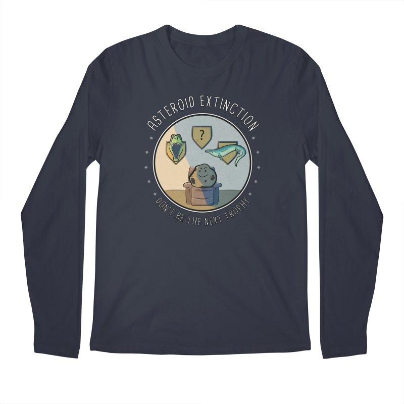 Asteroid Trophy Men's Regular Longsleeve T-Shirt by Photon Illustration's Artist Shop