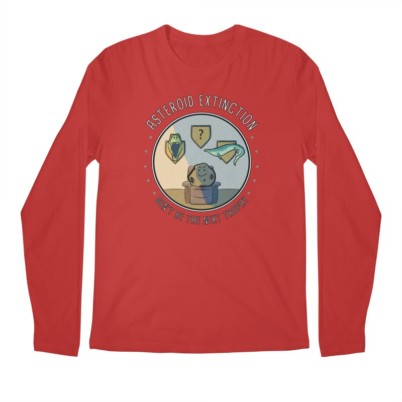 Asteroid Trophy Men's Regular Longsleeve T-Shirt by Photon Illustration's Artist Shop