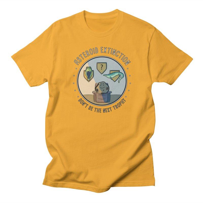 Asteroid Trophy Women's Regular Unisex T-Shirt by Photon Illustration's Artist Shop