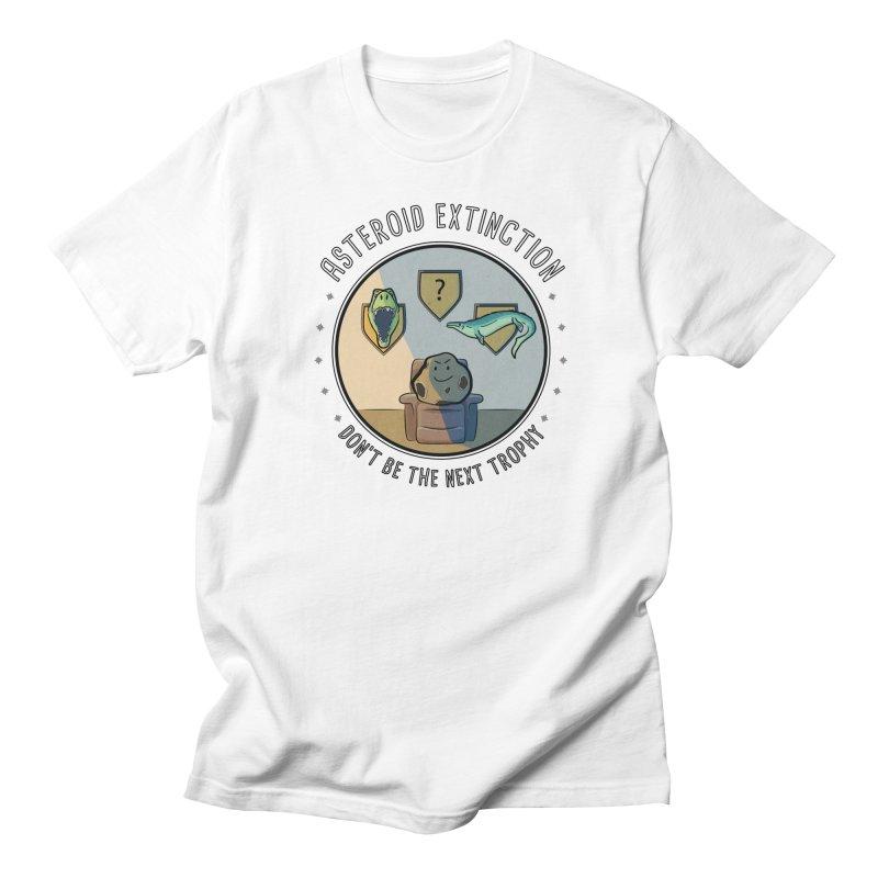 Asteroid Trophy Men's Regular T-Shirt by Photon Illustration's Artist Shop