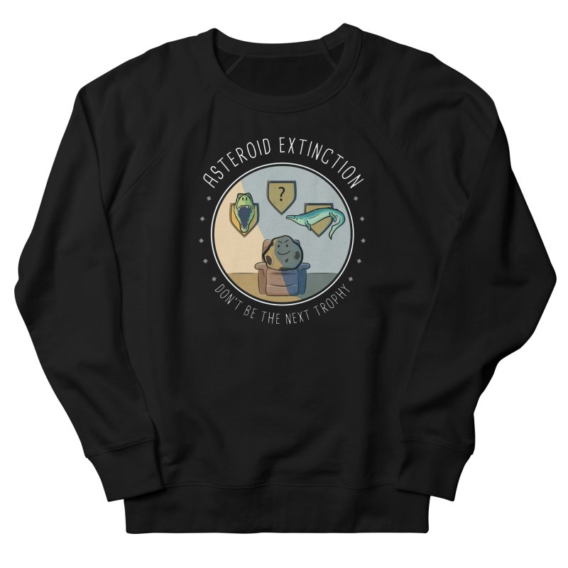 Asteroid Trophy Women's French Terry Sweatshirt by Photon Illustration's Artist Shop