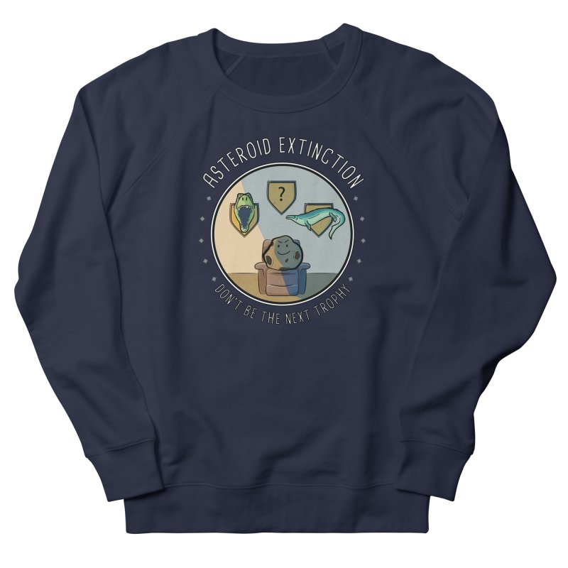 Asteroid Trophy Men's French Terry Sweatshirt by Photon Illustration's Artist Shop