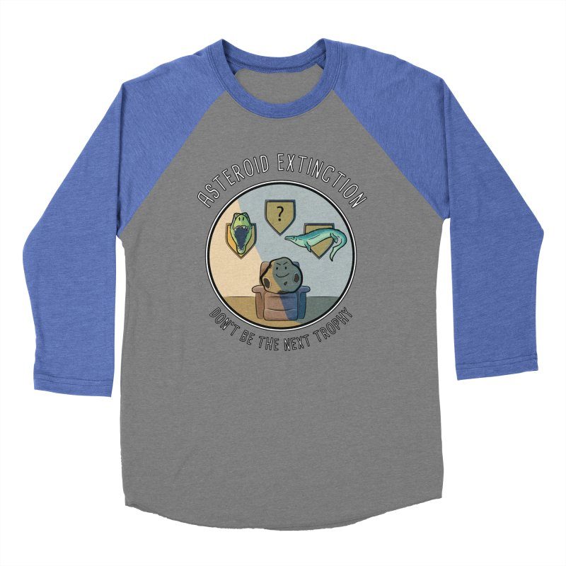 Asteroid Trophy Women's Baseball Triblend Longsleeve T-Shirt by Photon Illustration's Artist Shop