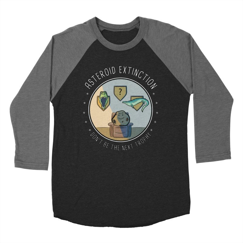 Asteroid Trophy Men's Baseball Triblend Longsleeve T-Shirt by Photon Illustration's Artist Shop