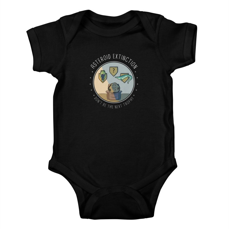 Asteroid Trophy Kids Baby Bodysuit by Photon Illustration's Artist Shop