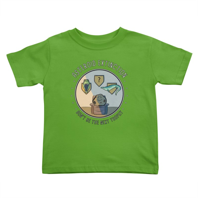 Asteroid Trophy Kids Toddler T-Shirt by Photon Illustration's Artist Shop