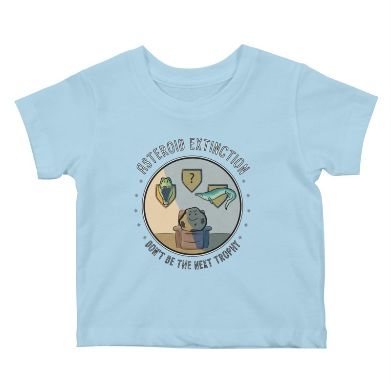 Asteroid Trophy Kids Baby T-Shirt by Photon Illustration's Artist Shop