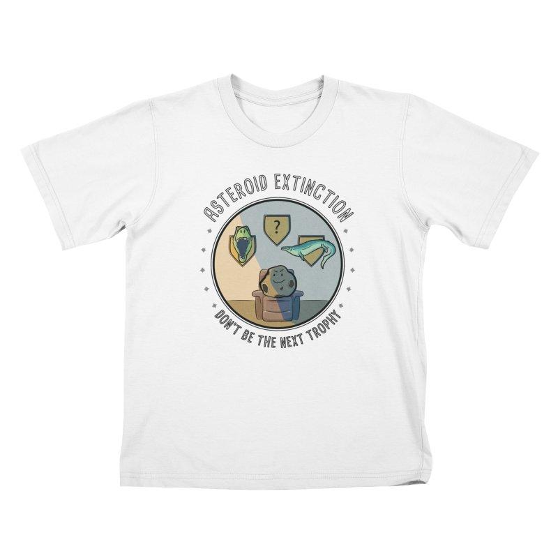 Asteroid Trophy Kids T-Shirt by Photon Illustration's Artist Shop