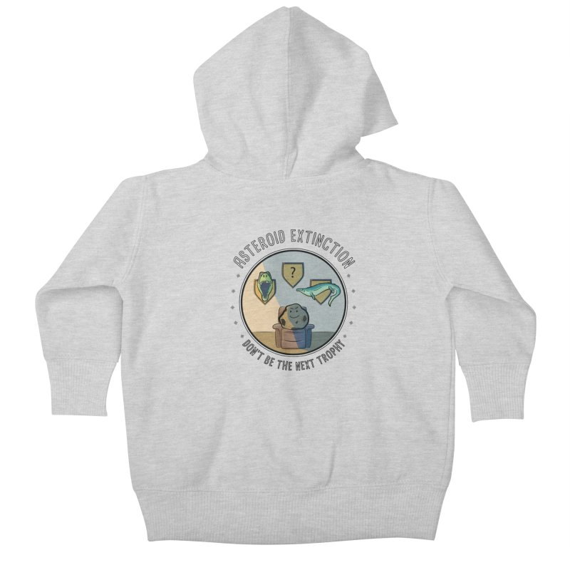 Asteroid Trophy Kids Baby Zip-Up Hoody by Photon Illustration's Artist Shop