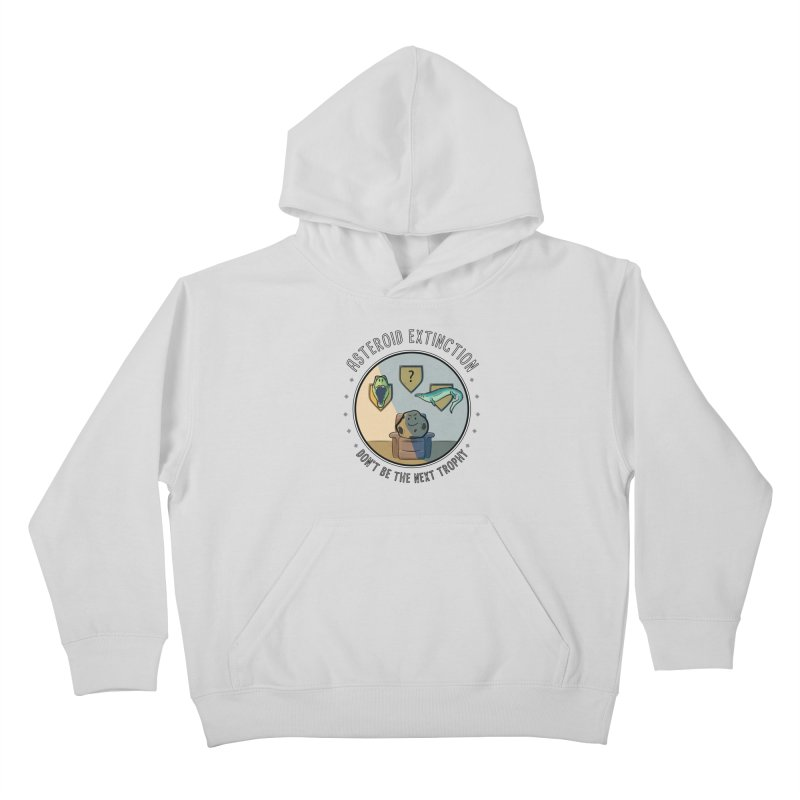 Asteroid Trophy Kids Pullover Hoody by Photon Illustration's Artist Shop