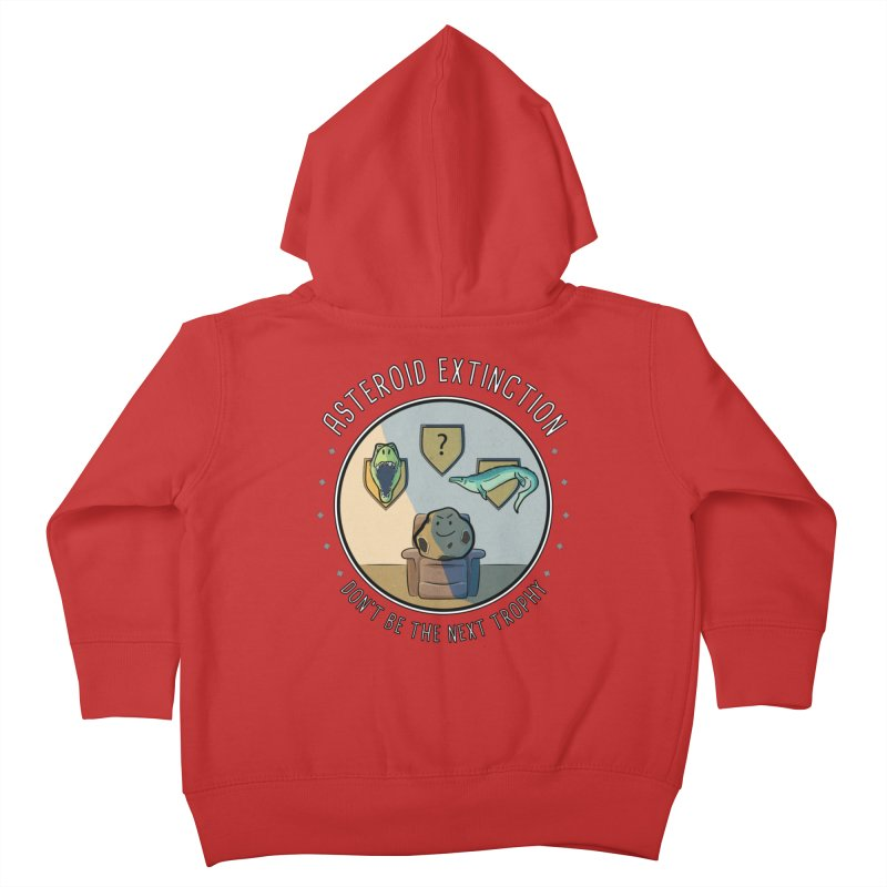 Asteroid Trophy Kids Toddler Zip-Up Hoody by Photon Illustration's Artist Shop